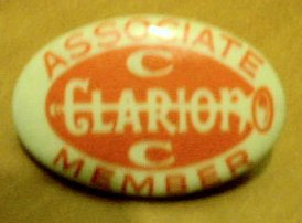 Clarion associate member badge